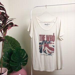 Lucky Brand >> The Who t-shirt >> XL